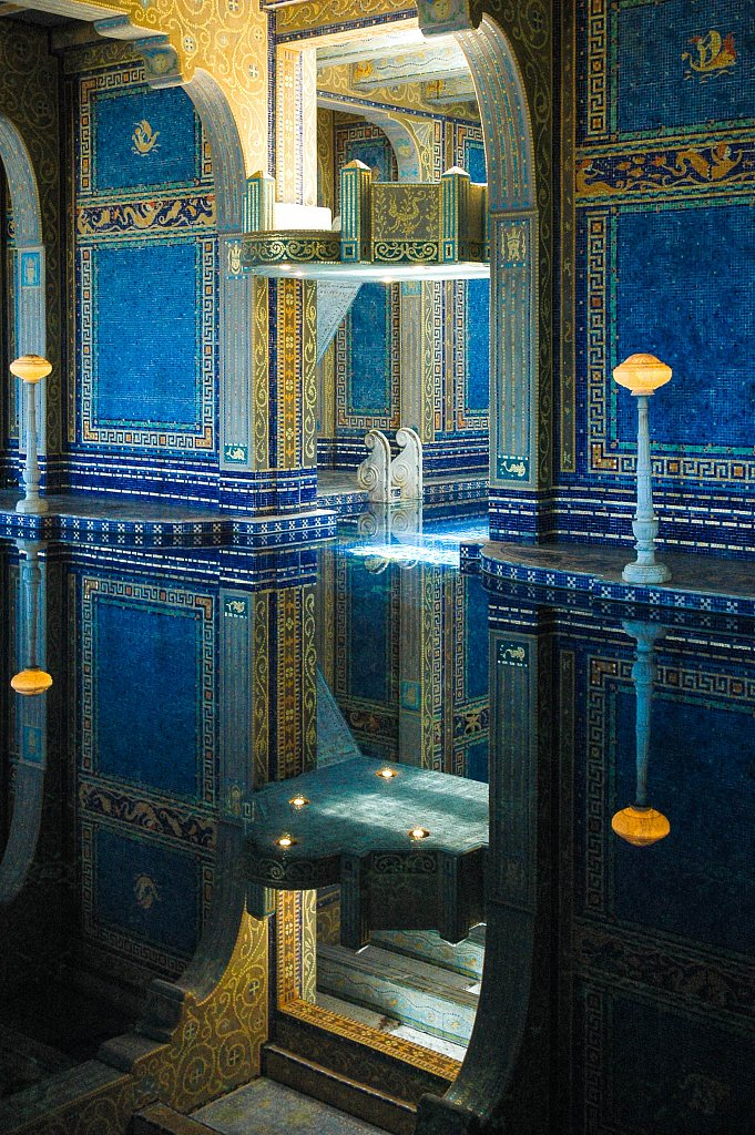 Pool, Hearst Castle, California